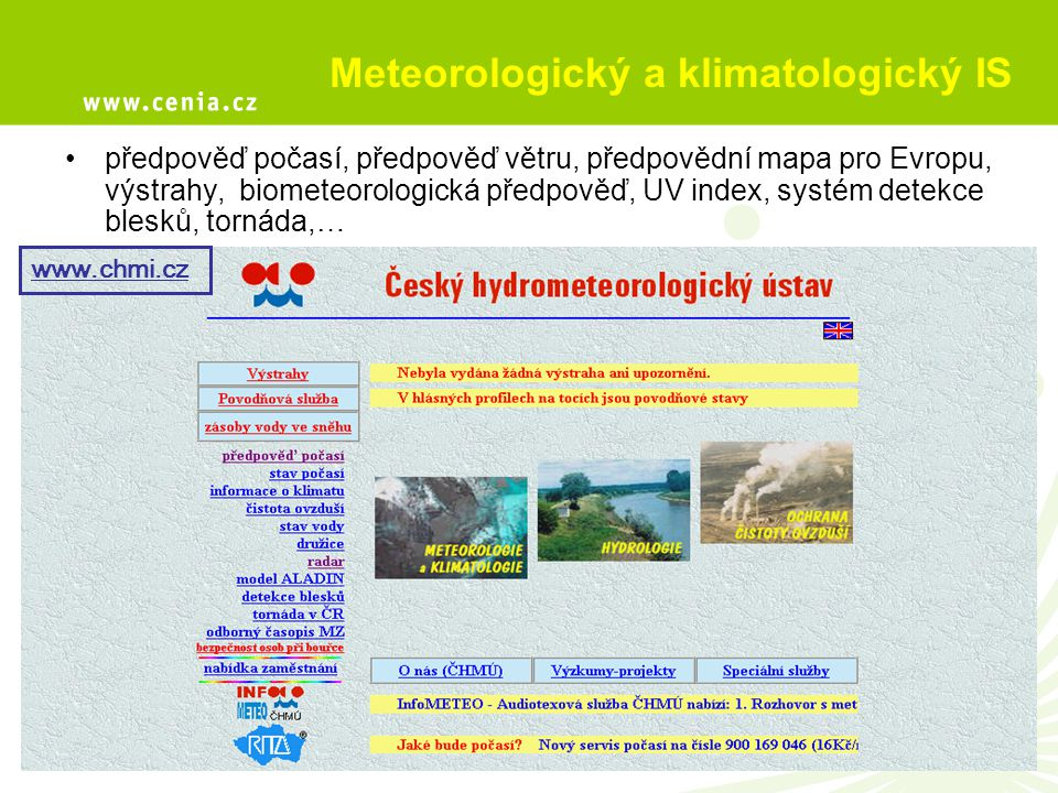 Meteorologický a klimatologický IS