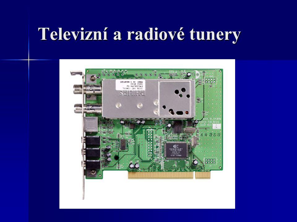 Televizní a radiové tunery