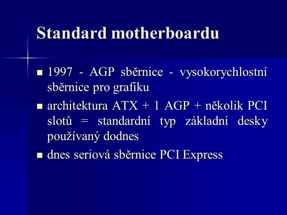 Standard motherboardu