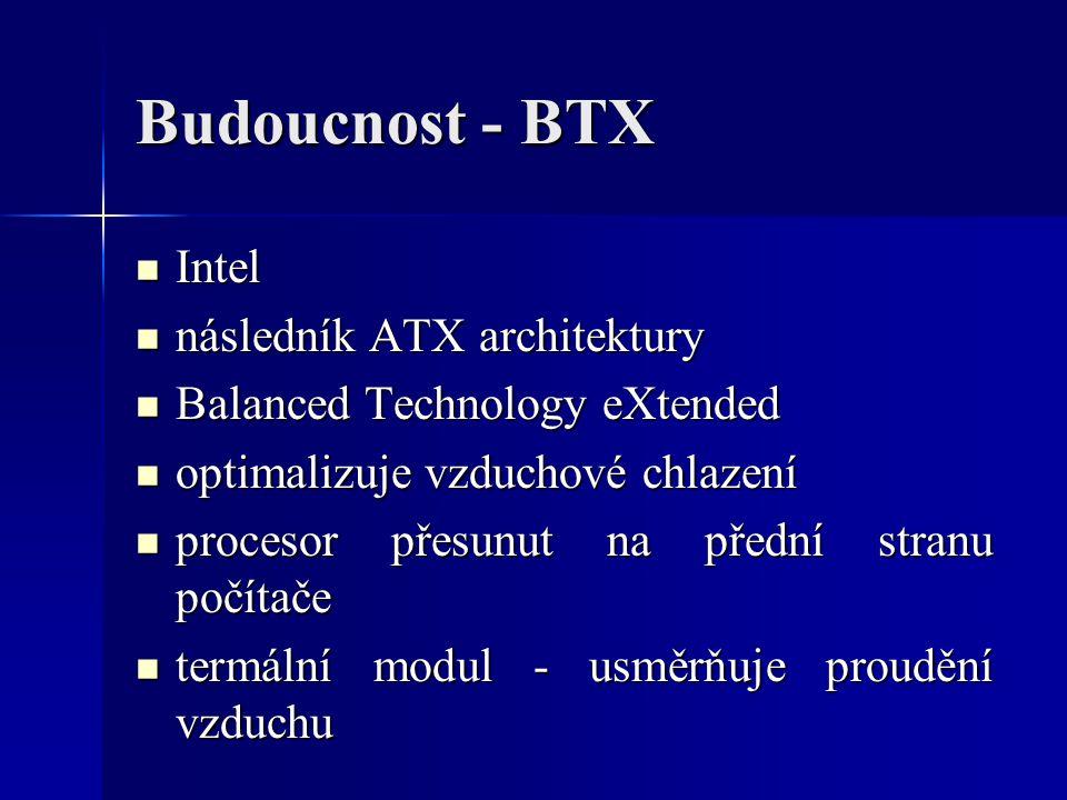 Budoucnost - BTX Intel následník ATX architektury