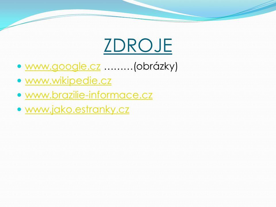 ZDROJE www.google.cz ………(obrázky) www.wikipedie.cz