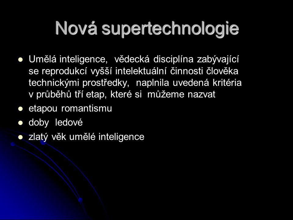 Nová supertechnologie