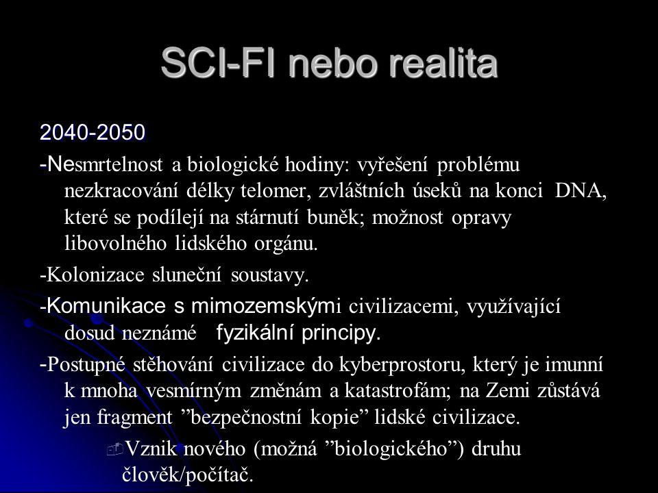 SCI-FI nebo realita 2040-2050.