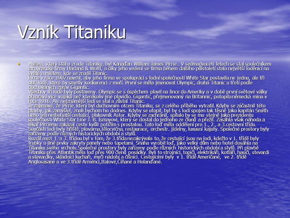 Vznik Titaniku