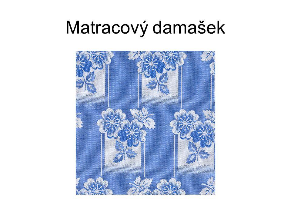 Matracový damašek