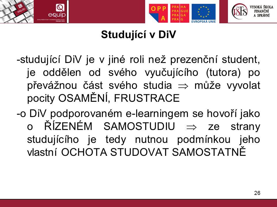 Studující v DiV