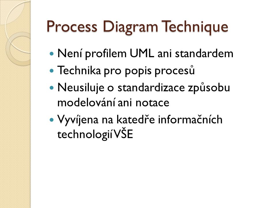 Process Diagram Technique