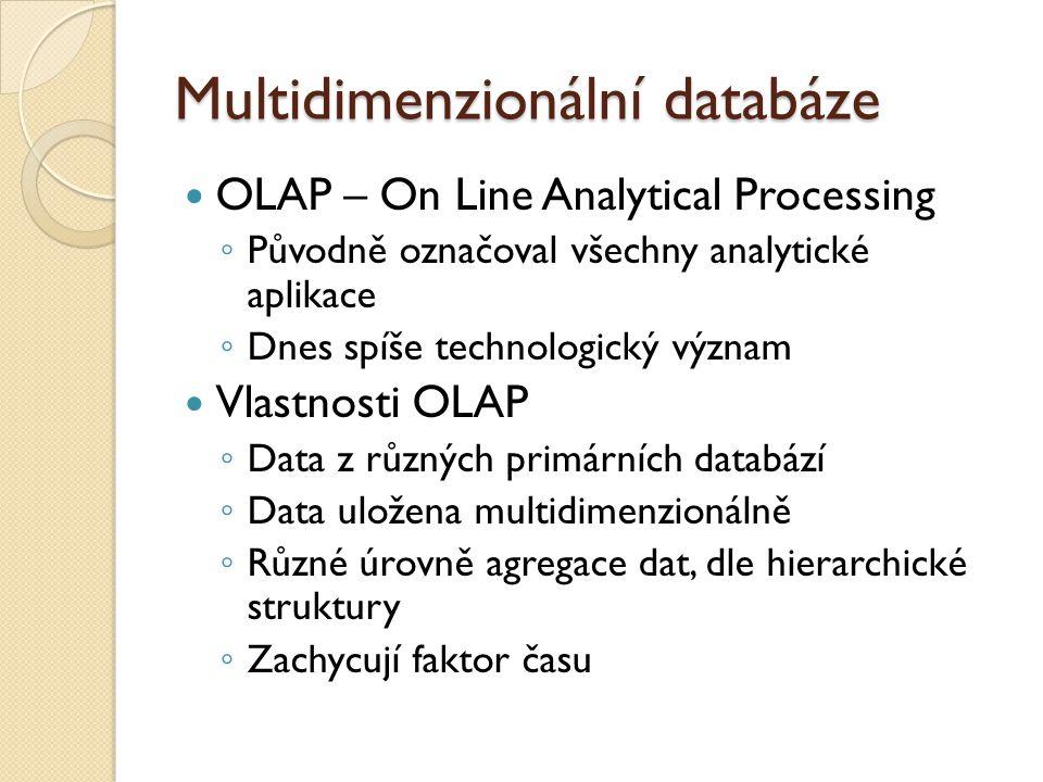 Multidimenzionální databáze