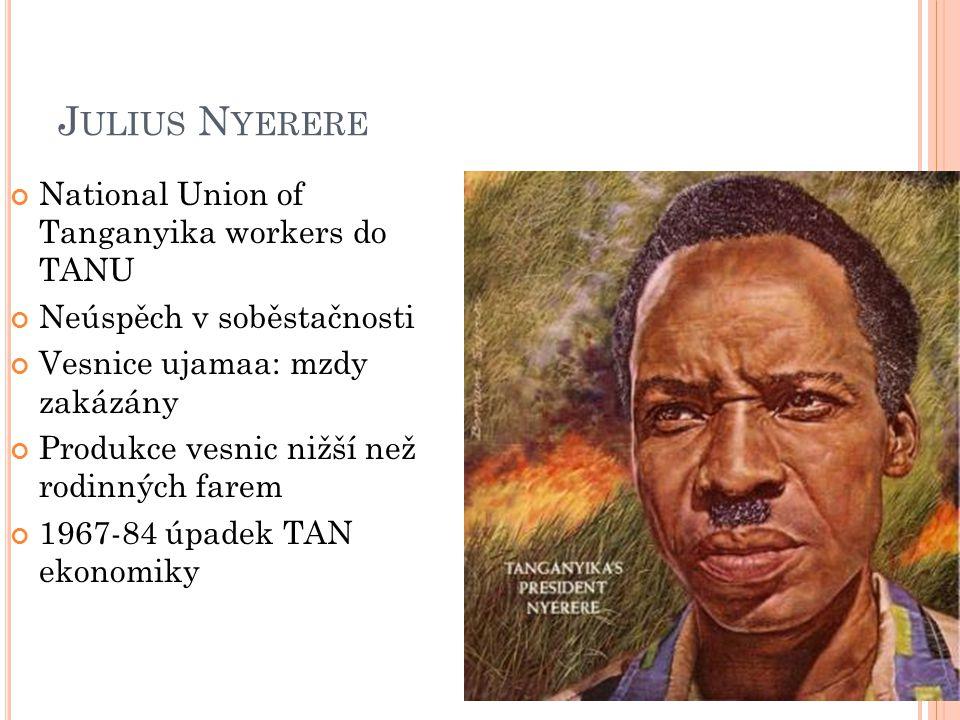 Julius Nyerere National Union of Tanganyika workers do TANU