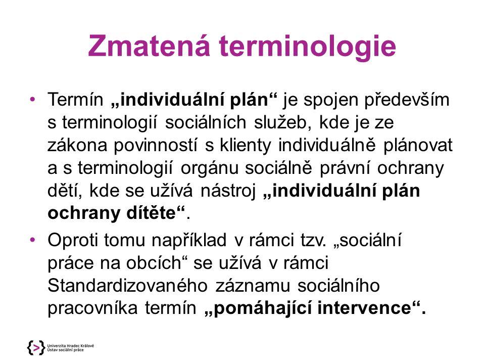 Zmatená terminologie
