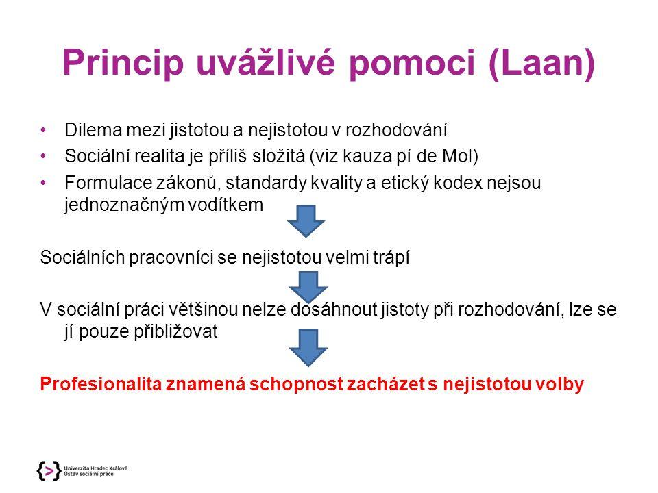 Princip uvážlivé pomoci (Laan)