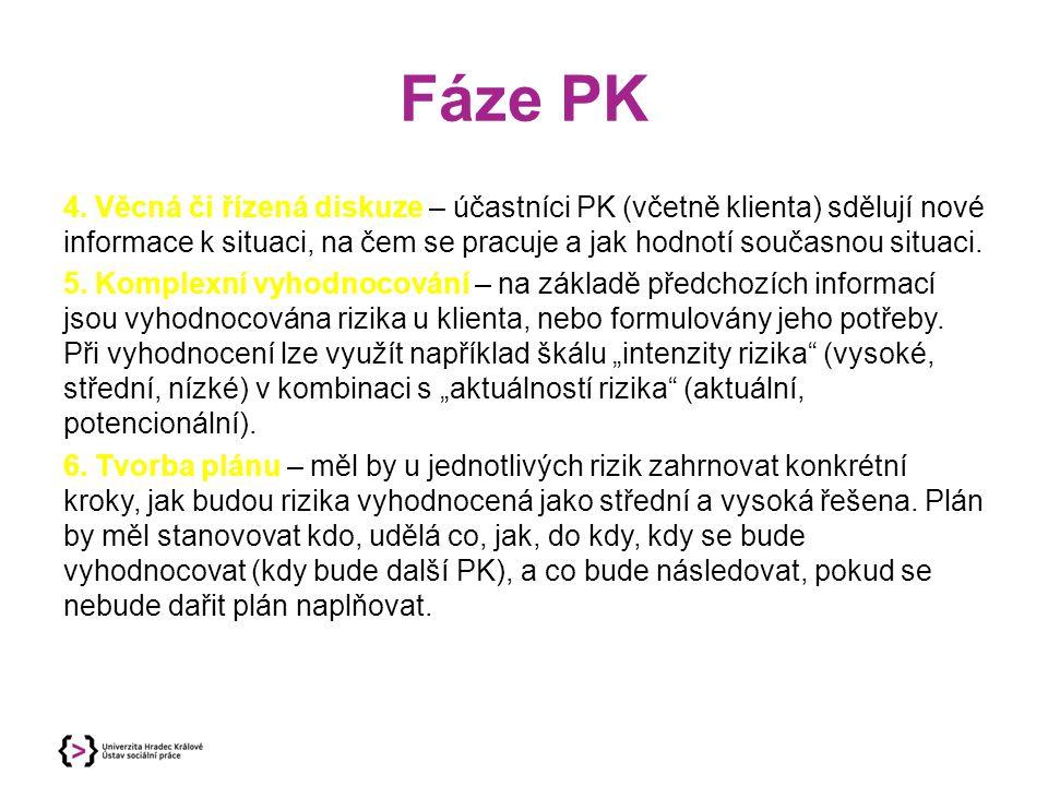 Fáze PK