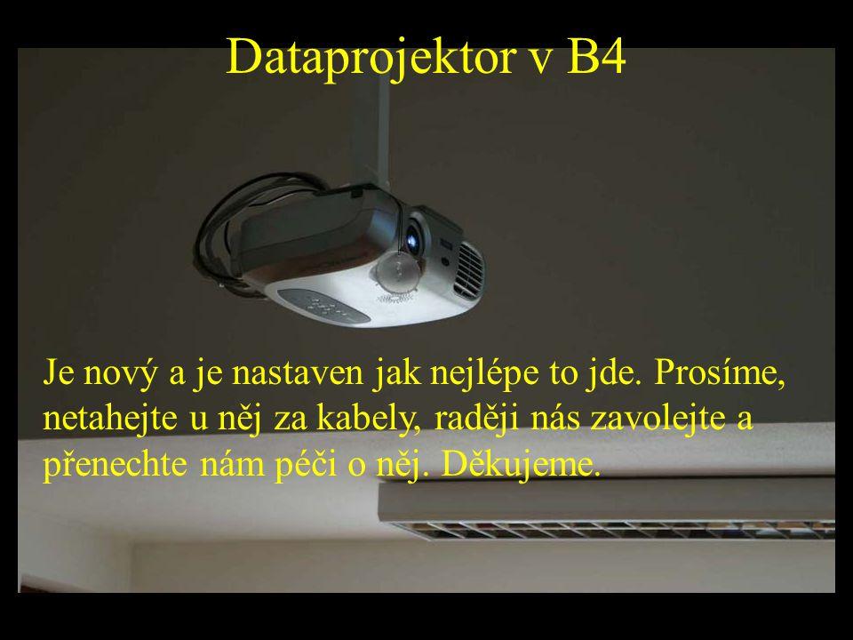 Dataprojektor v B4