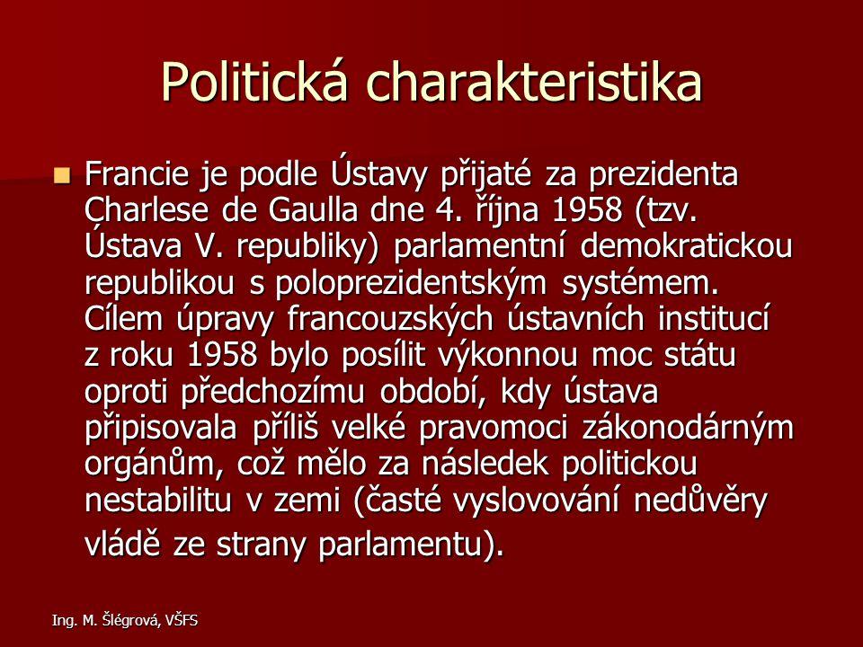 Politická charakteristika