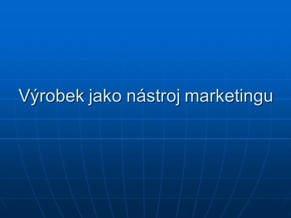 Výrobek jako nástroj marketingu