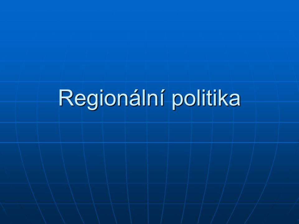 Regionální politika
