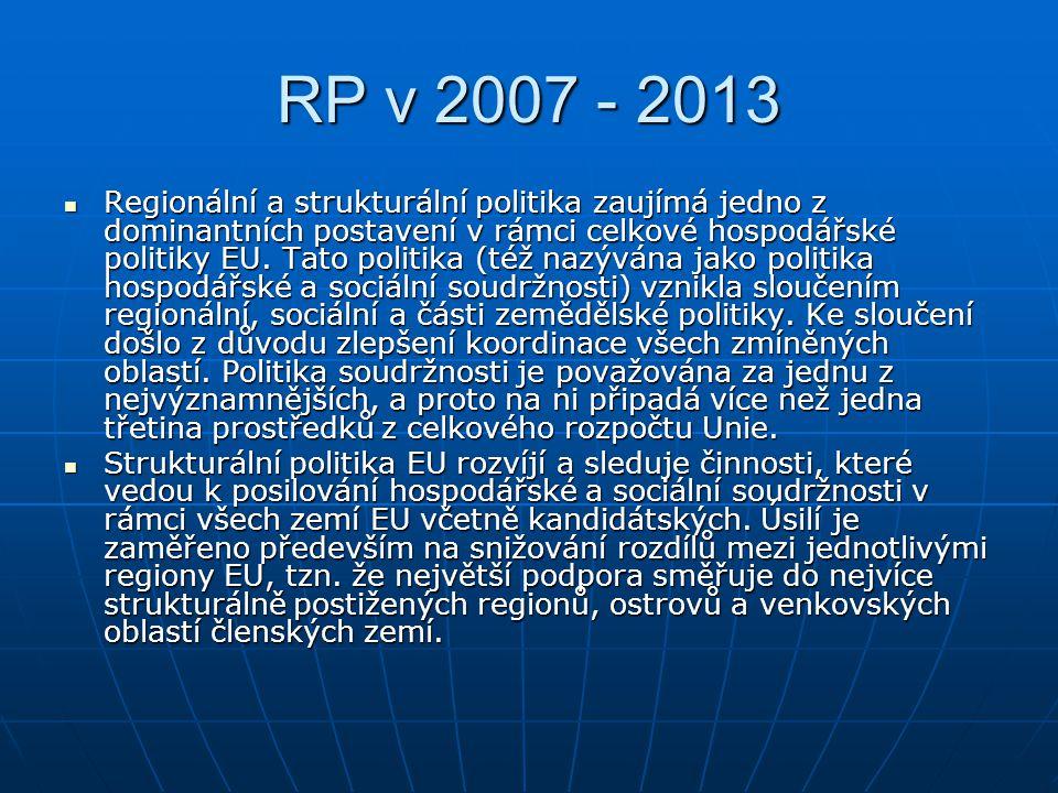 RP v 2007 - 2013
