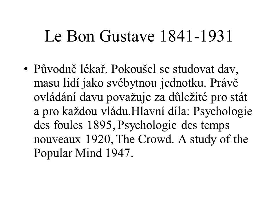 Le Bon Gustave 1841-1931