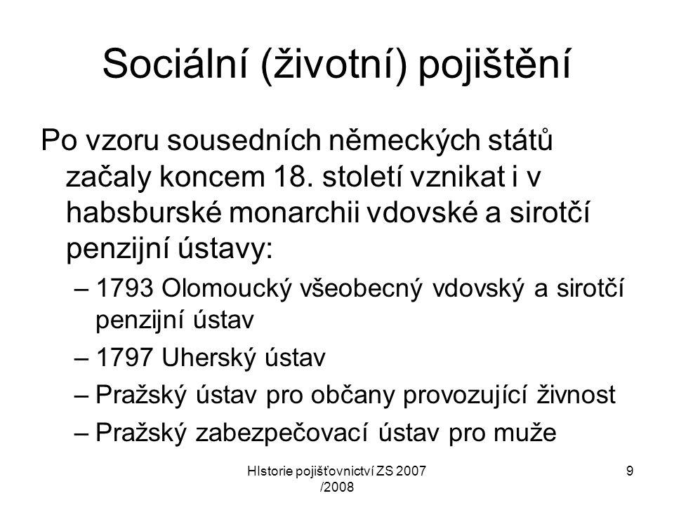 Sociální (životní) pojištění