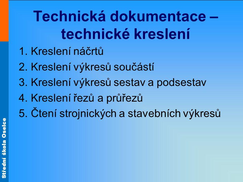 Technická dokumentace – technické kreslení