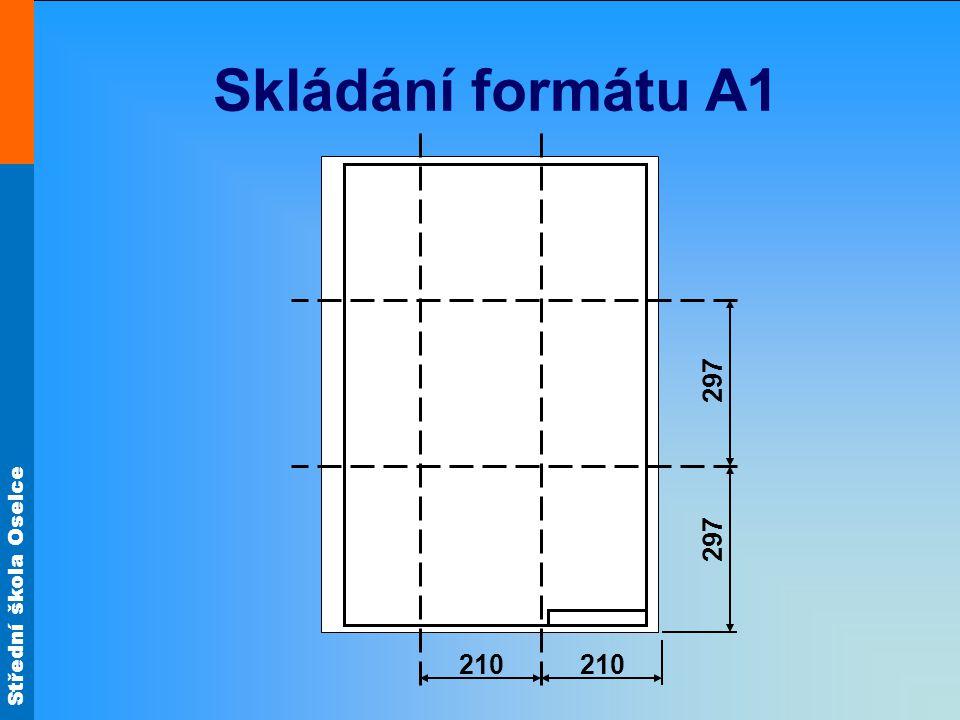 Skládání formátu A1 210 297