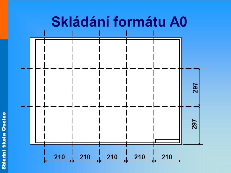 Skládání formátu A0 210 297