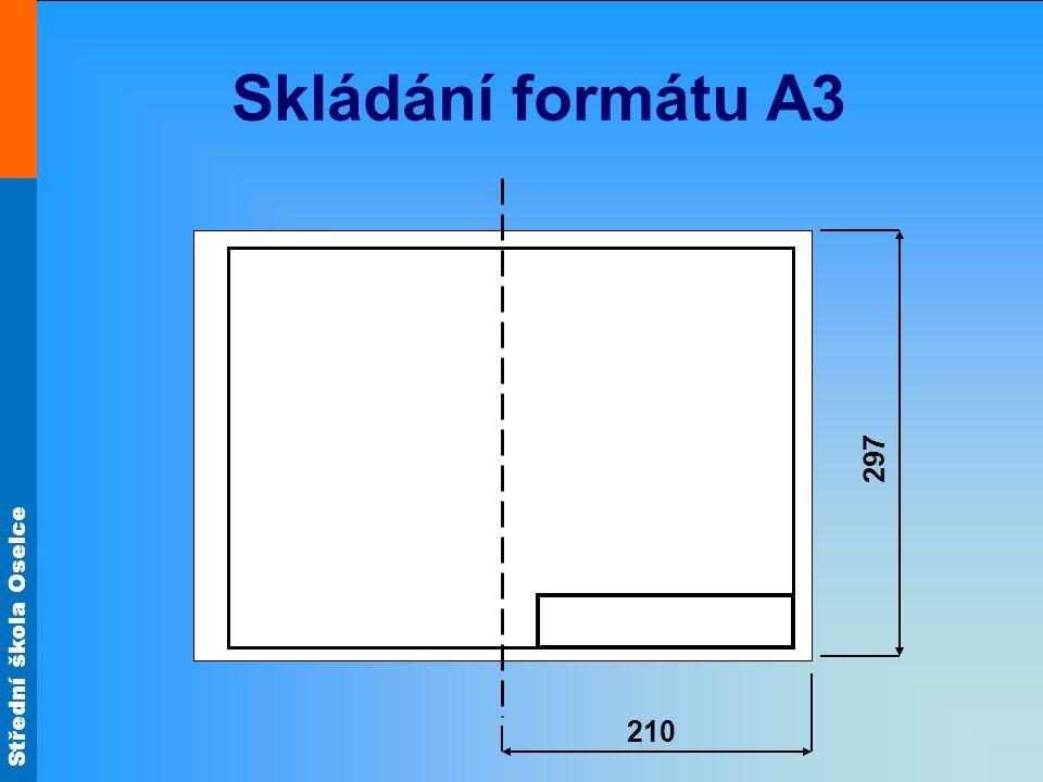 Skládání formátu A3 210 297