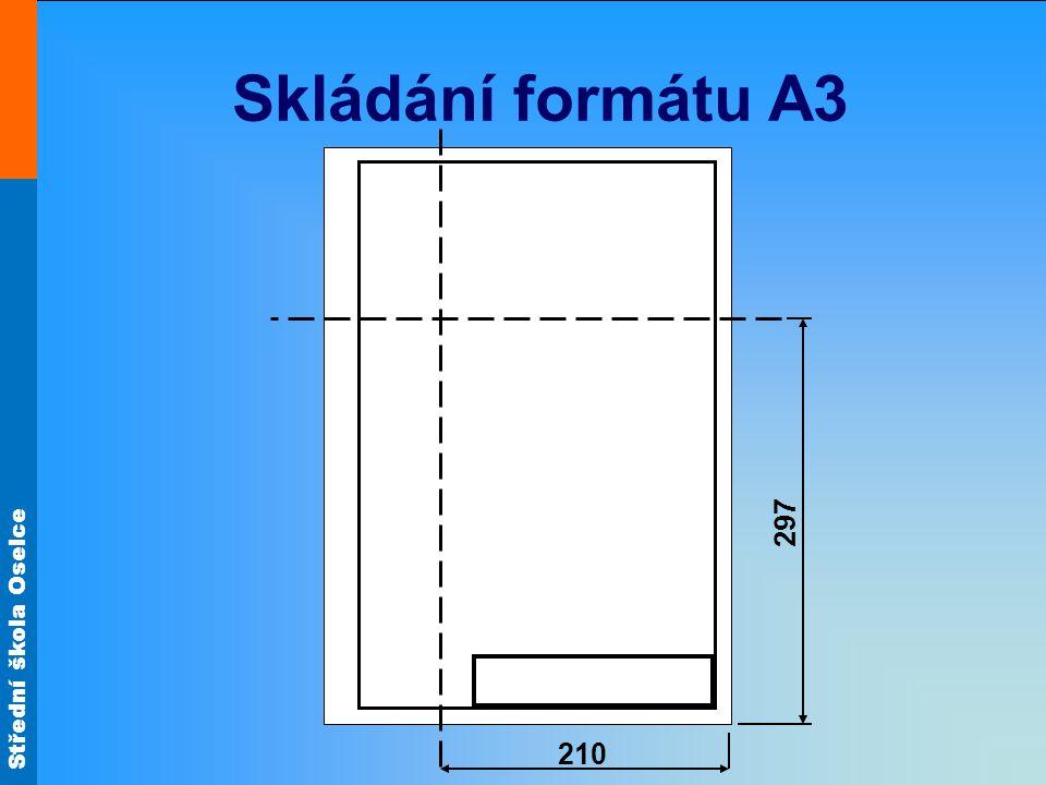 Skládání formátu A3 297 210