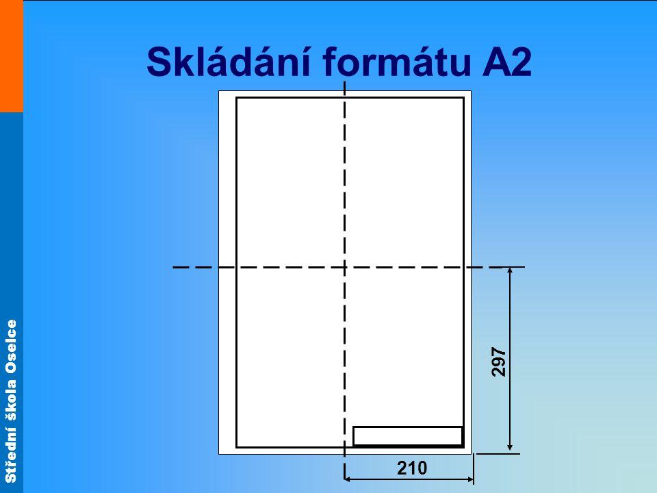 Skládání formátu A2 210 297