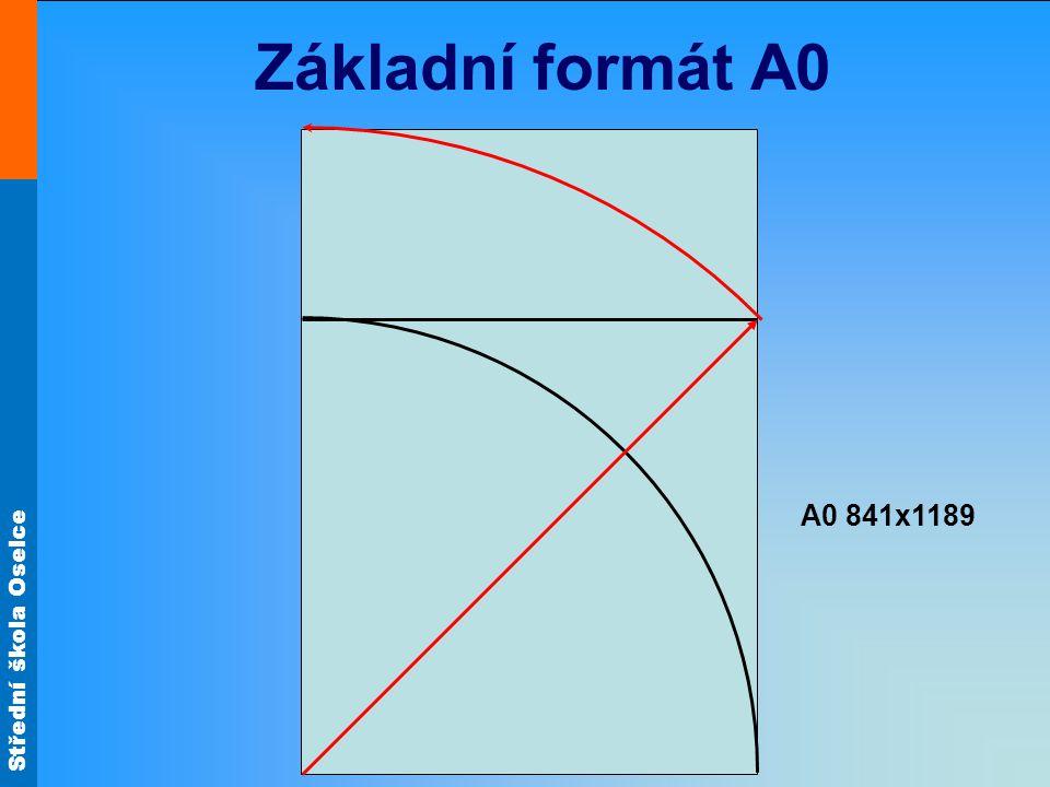 Základní formát A0 A0 841x1189