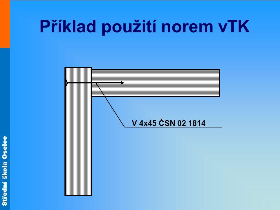 Příklad použití norem vTK
