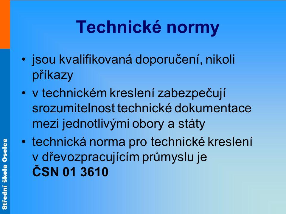 Technické normy jsou kvalifikovaná doporučení, nikoli příkazy