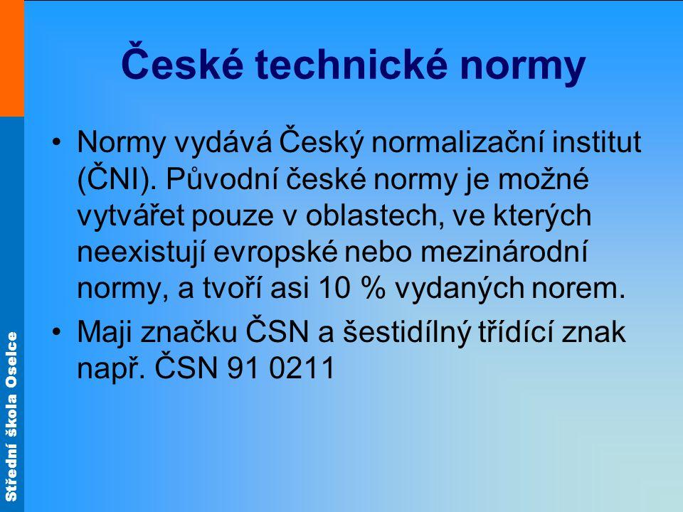 České technické normy