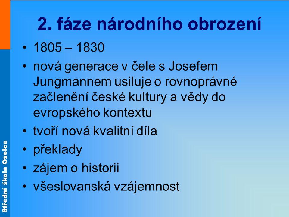 2. fáze národního obrození