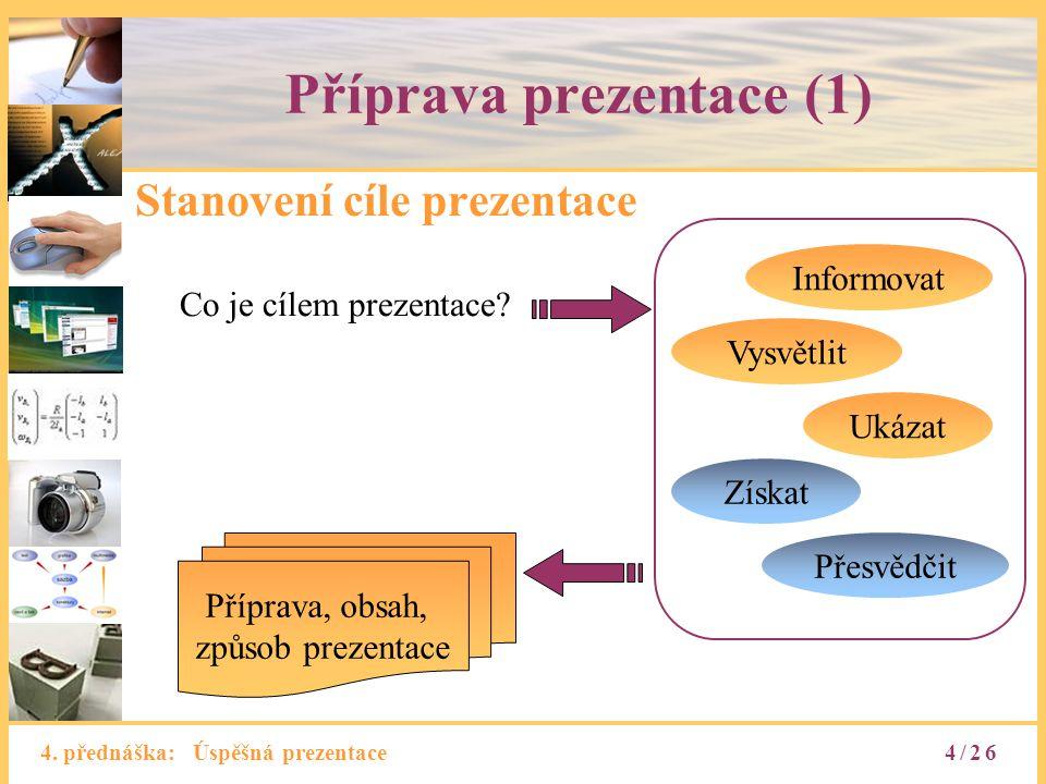 Příprava prezentace (1)