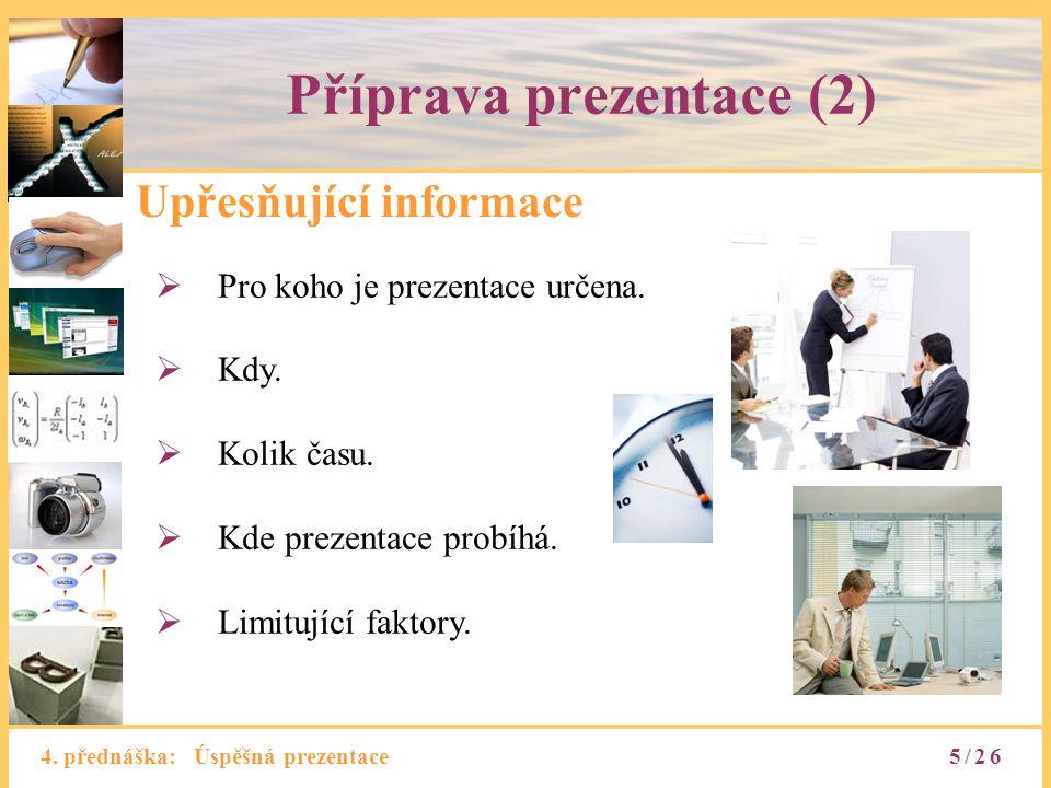 Příprava prezentace (2)