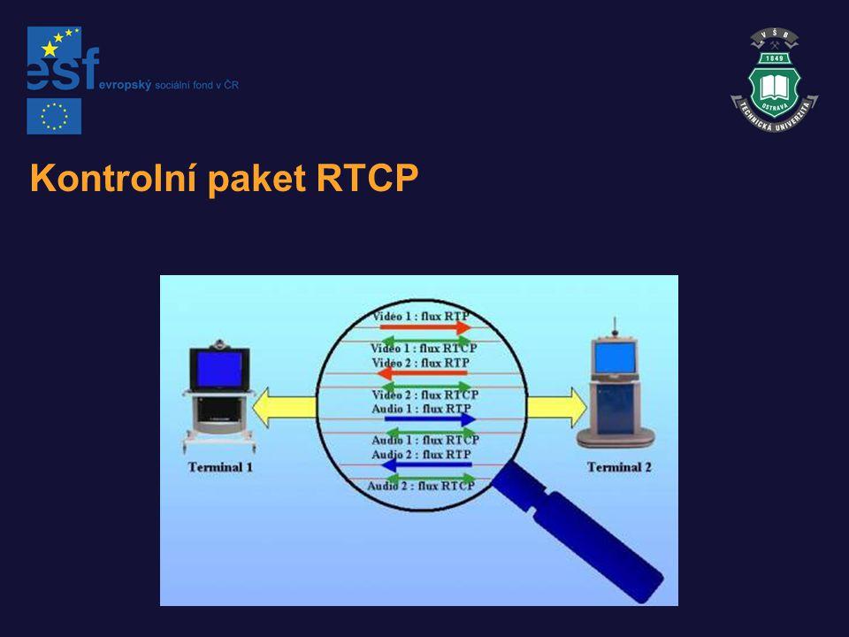 Kontrolní paket RTCP
