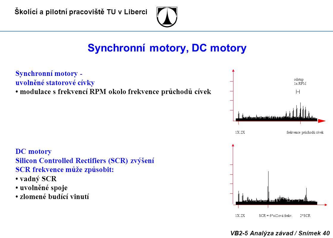 Synchronní motory, DC motory