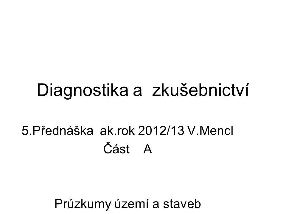 Diagnostika a zkušebnictví