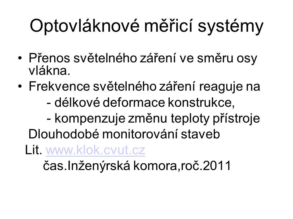 Optovláknové měřicí systémy