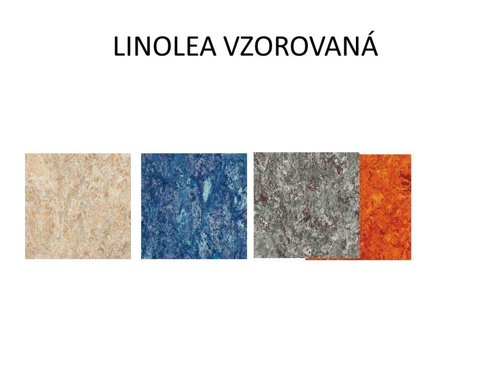 LINOLEA VZOROVANÁ