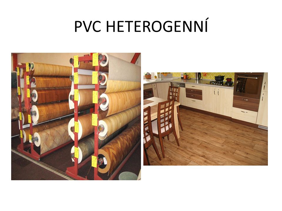 PVC HETEROGENNÍ