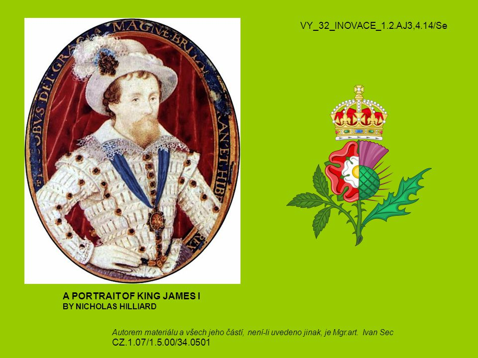 A PORTRAIT OF KING JAMES I