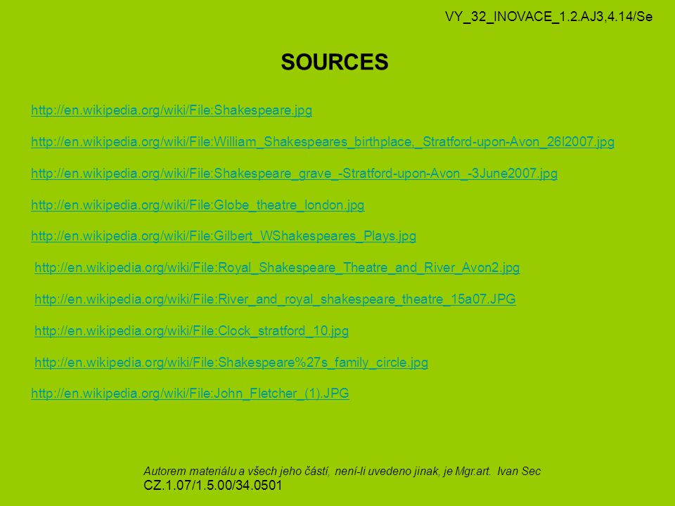 SOURCES VY_32_INOVACE_1.2.AJ3,4.14/Se