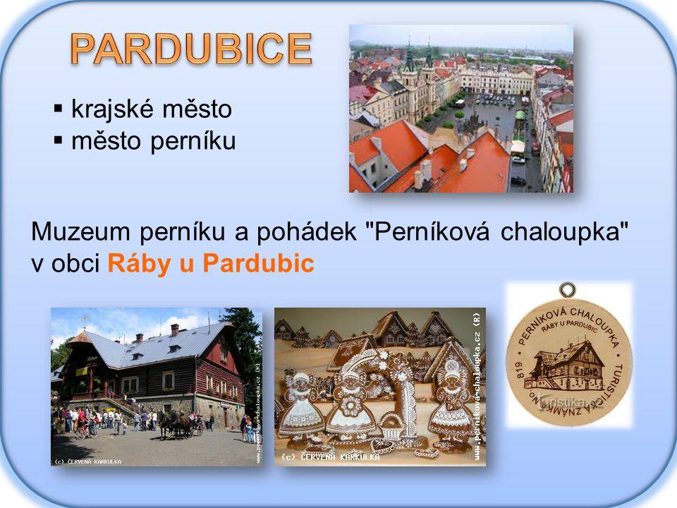 PARDUBICE krajské město město perníku