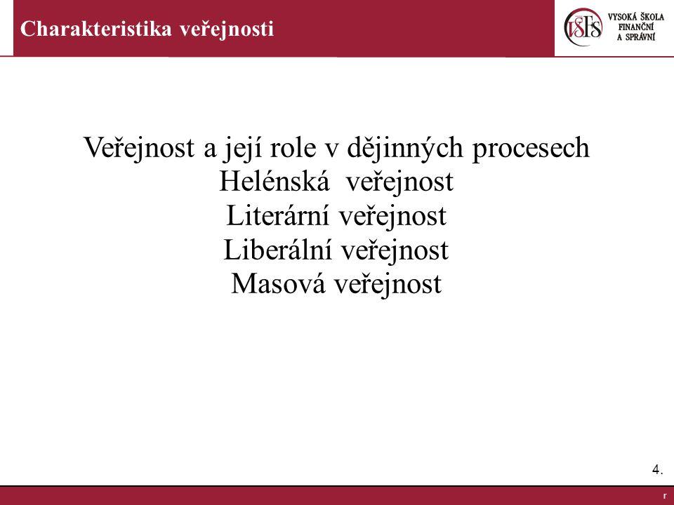 Veřejnost a její role v dějinných procesech Helénská veřejnost