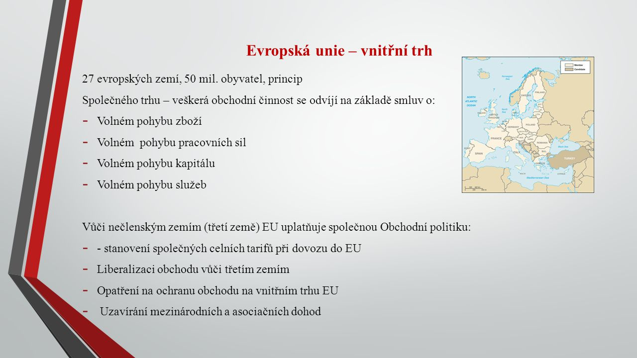 Evropská unie – vnitřní trh