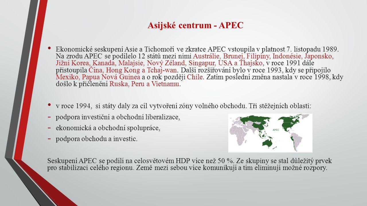Asijské centrum - APEC