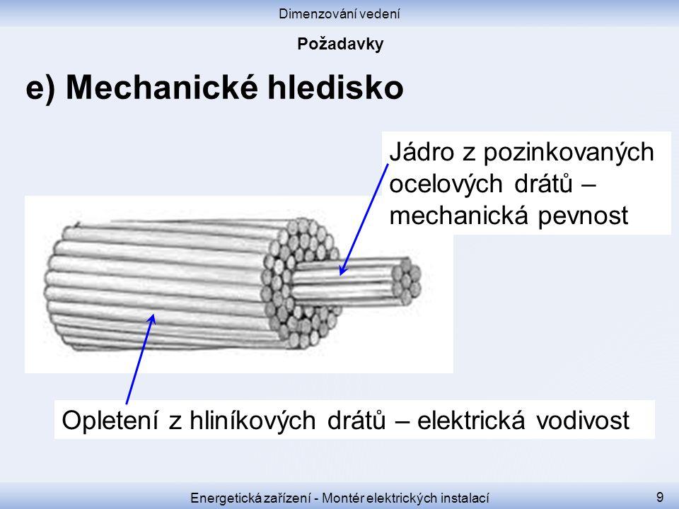 Energetická zařízení - Montér elektrických instalací