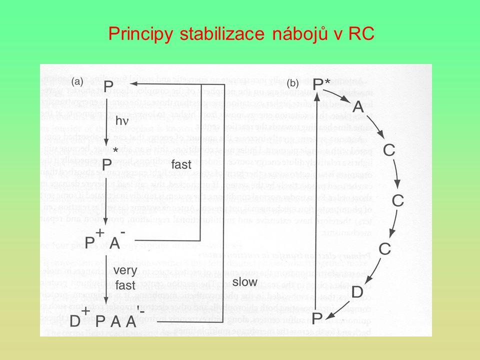 Principy stabilizace nábojů v RC